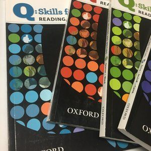 Q: Skills For Success Level 2 , 3, 4 and 5 Lot of